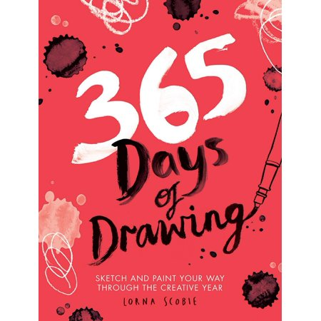 365 Days of Drawing : Sketch and Paint Your Way Through the Creative Year](Ways To Paint Face For Halloween)