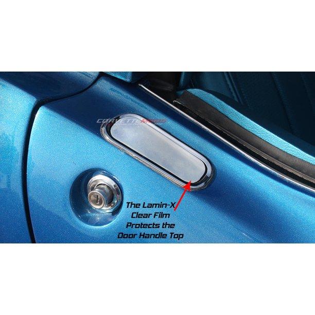 C3 Corvette 1968 1982 Lamin X Clear Bra Outer Door Handle Protection Pair Walmart Com Walmart Com