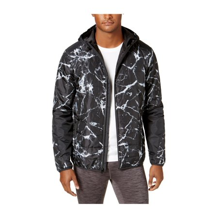 - Ideology Mens Marbled Puffer Jacket
