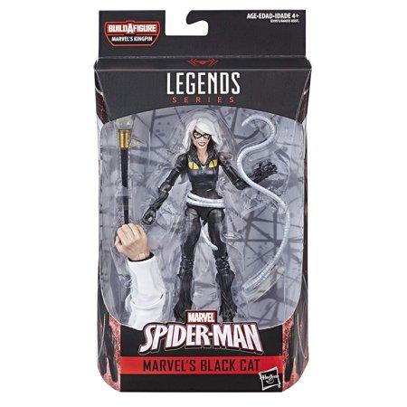 Spider-Man Marvel Legends Series 6-inch Marvel's Black Cat BAF Kingpin