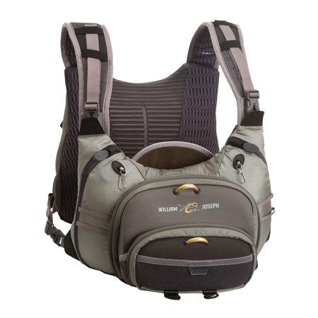 William joseph confluence fly fishing backpack and chest for Fishing chest pack