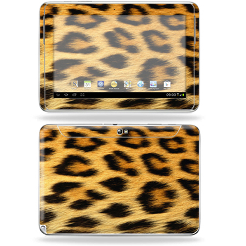 "Mightyskins Protective Skin Decal Cover for Samsung Galaxy Note 10.1"" inch Tablet wrap sticker skins Cheetah"