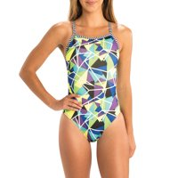 Dolfin Uglies Women's Print V-2 Back Swimsuit in Multiple Patterns and Sizes