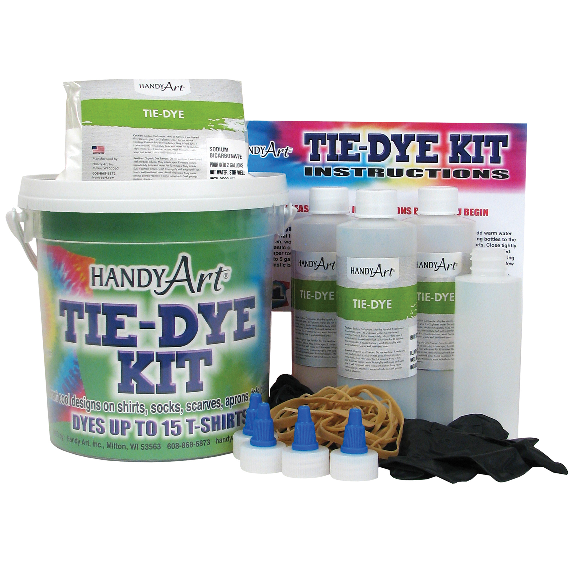 Handy Art™ by Rock Paint Tie Dye Kit