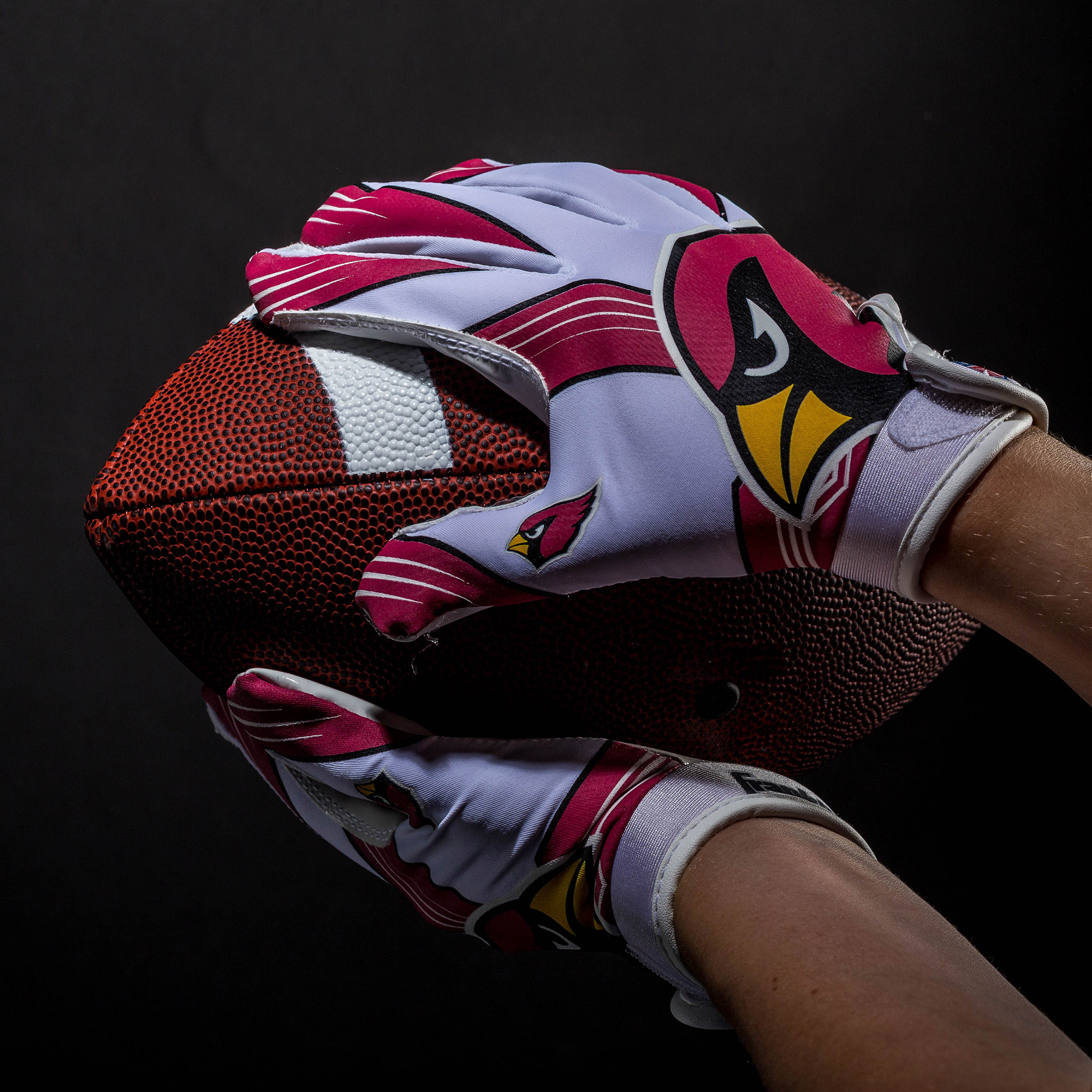 Nfl Arizona Cardinals Youth Football Receiver Gloves Walmart Com Walmart Com