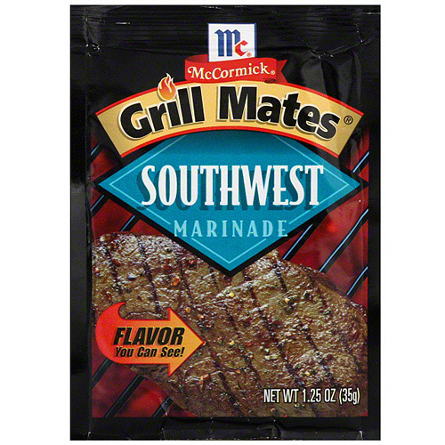 ***Discontinued by Kehe 5_19***Grill Mates Southwest Marinade, 1.25 oz (Pack of 12)