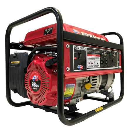 All Power 2000 Watt Portable Generator, 2000W Gas Powered Generator, APG3014 ()