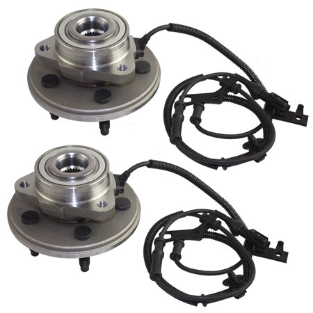 Ford Sport Trac Xlt (BROCK Wheel Hub Bearings Pair Set Front Replacements for 06-10 Ford Explorer & Sport Trac Mercury Mountaineer 7L2Z 1104 A 5151078 )
