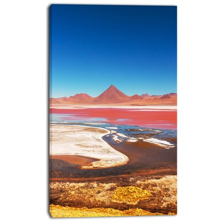 High Mountains in Bolivia - Landscape Wall Art on Canvas - image 1 of 3