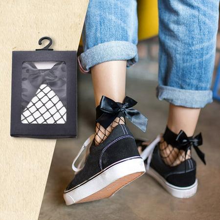 Women Fish Net Short Socks
