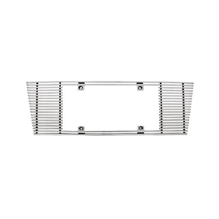 Edge Billet - IPCW CWL-443C 4mm BILLET LICENSE PLATE FRAME SLOPED EDGE