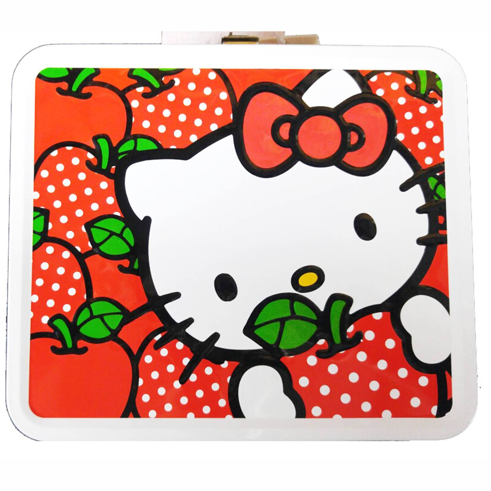 Loungefly Hello Kitty Apples With Polka Dots Metal Lunch Box  sc 1 st  Walmart & Loungefly Hello Kitty Apples With Polka Dots Metal Lunch Box ... Aboutintivar.Com