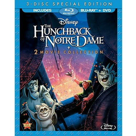 The Hunchback of Notre Dame 2-Movie Collection (Special Edition) (Blu-ray + - Halloween Special Movie