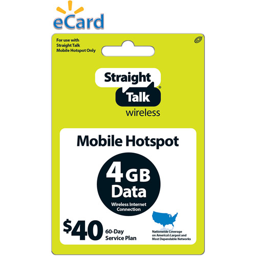 Straight Talk Broadband 4GB $40 (Email Delivery)