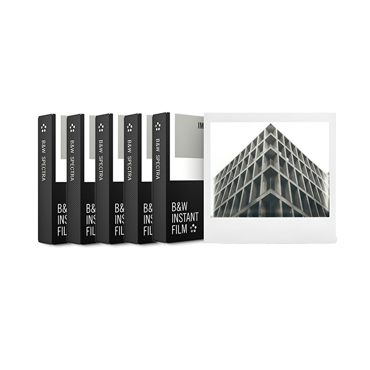 Impossible Project Spectra B&W Film (5 pack)