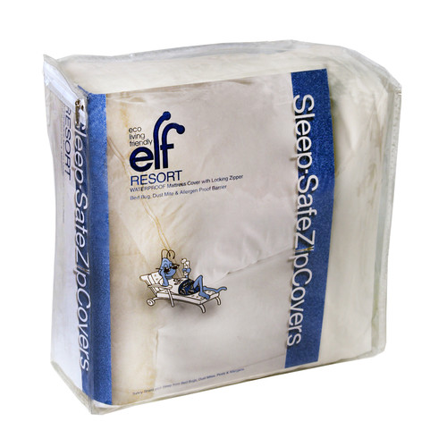 Sleep Safe Mattress Protector Sleep Safe Bedding Resort 12'' Waterproof, Bed Bug, Dust Mite and ...