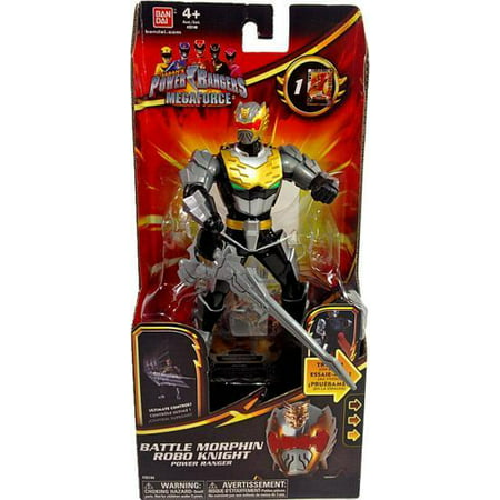Power Rangers Battle Morphin Robo Knight Power Ranger Action Figure for $<!---->
