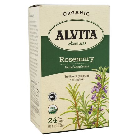 Alvita Alvita Tea - Organic - Rosemary Herbal - 24 Tea (Organic Goodnight Herbal Tea)