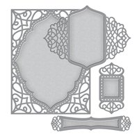 Spellbinders Nestabilities Etched Dies, Tranquil Moments