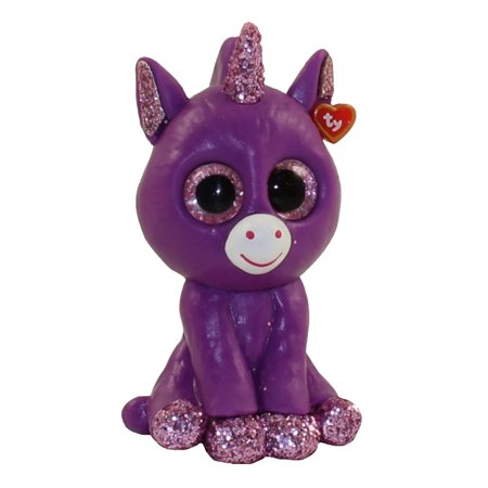 TY Beanie Boos - Mini Boo Figures Series 3 - AMETHYST the Purple Unicorn (2 inch) ()