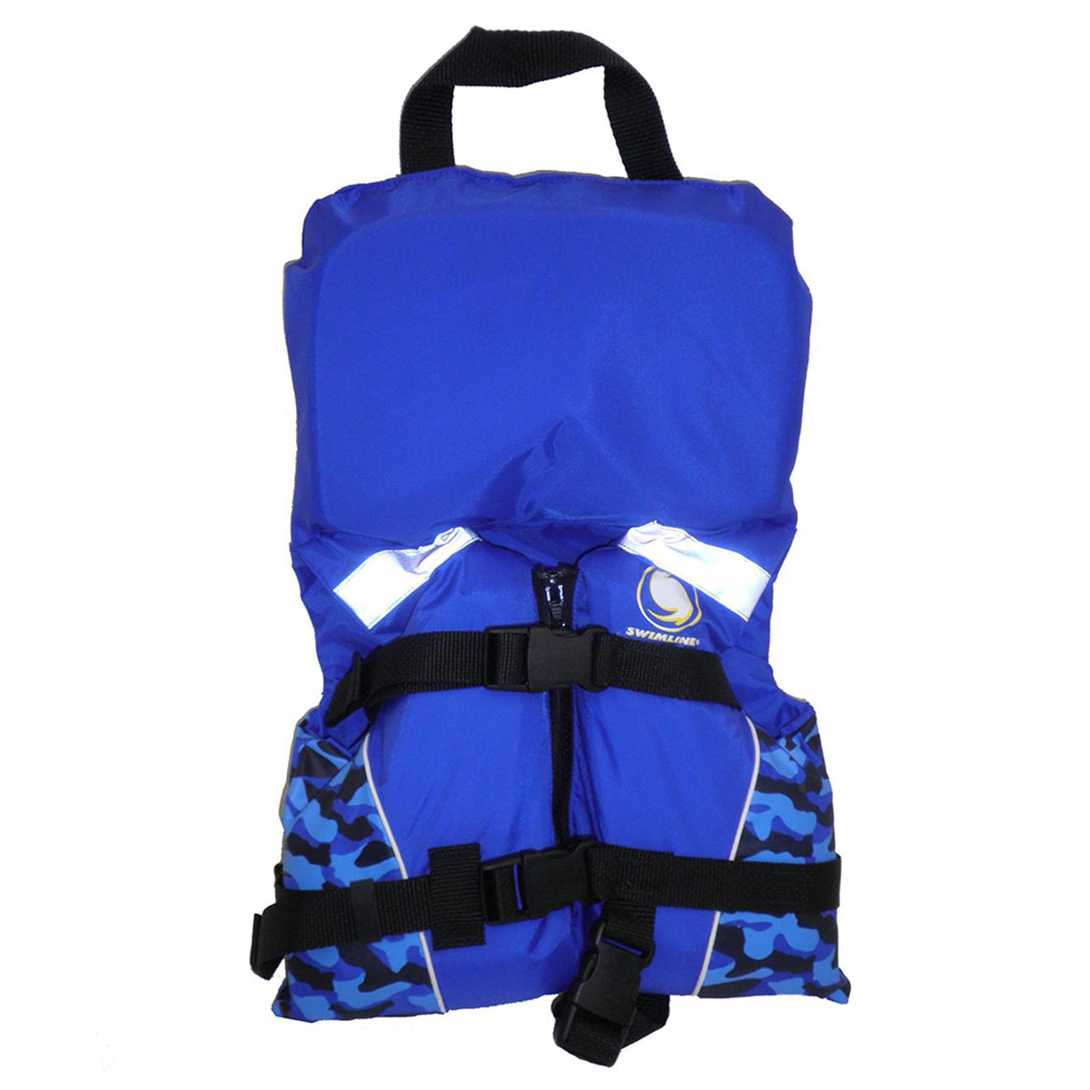 Blue Infant Boy Life Vest USGC Approved Type II For Kids Up to 30 Pounds by