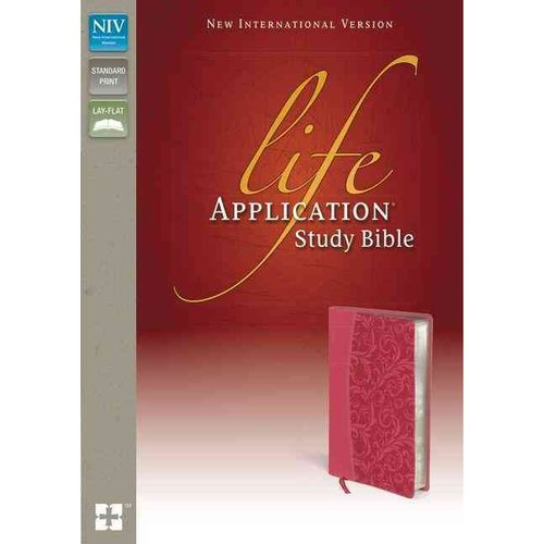 Life Application Study Bible: New International Version, Honeysuckle Pink Italian Duo-Tone