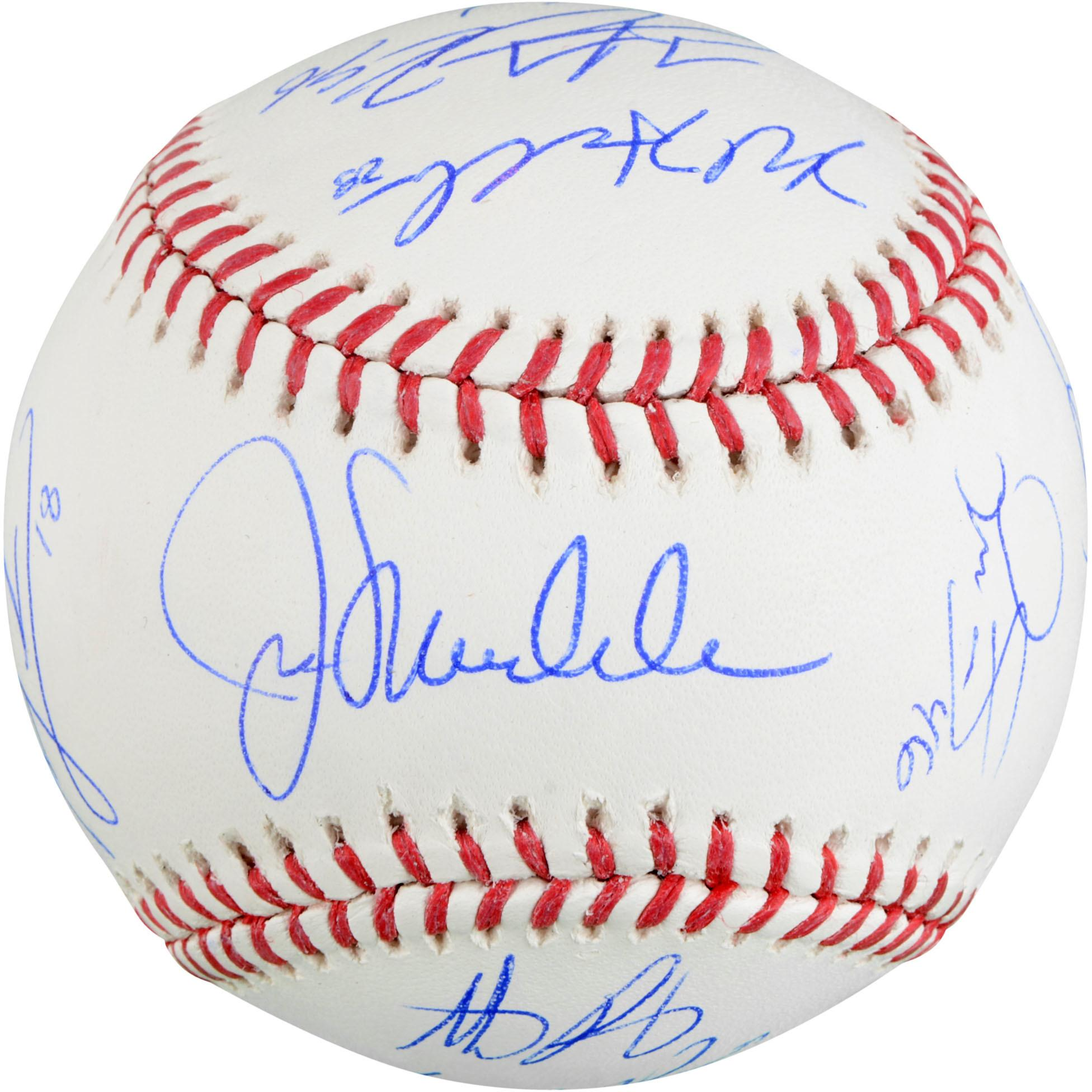 2016 Chicago Cubs Autographed Baseball - 14 Signatures