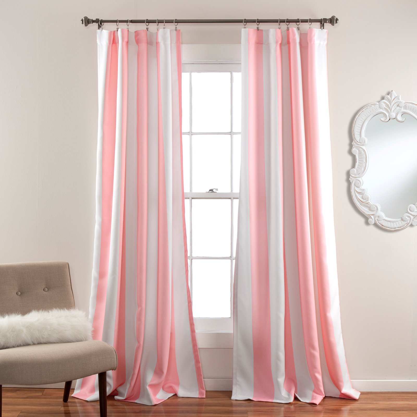 grom default grommet grey striped curtains silk window faux blackout curtain top l dupioni iv bo