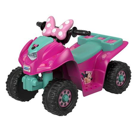 Power Wheels Lil' Quad Featuring Disney's Minnie