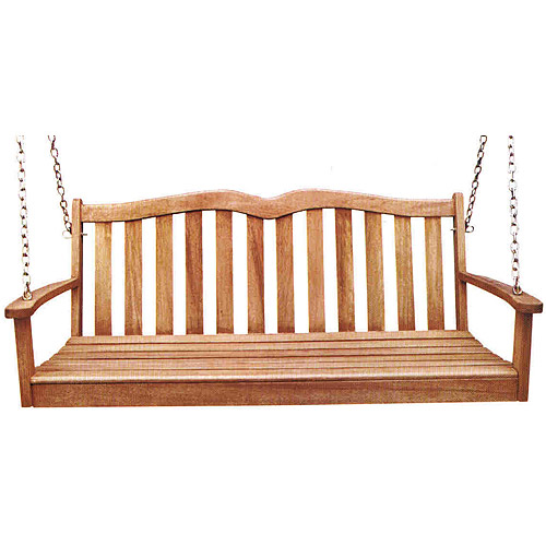 2-Person Wooden Porch Swing