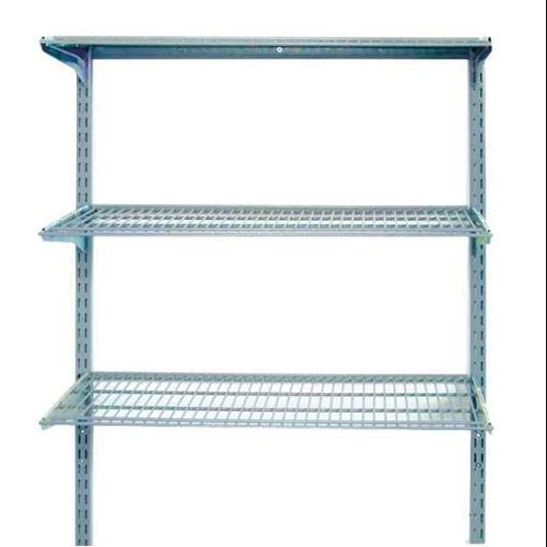 LOCBOARD 1795 Wall Mounted Wire Shelving,375 lb G2018445