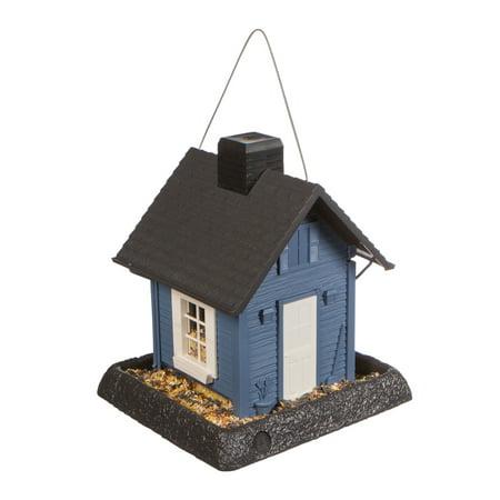 North States Blue Cottage Bird Feeder ()