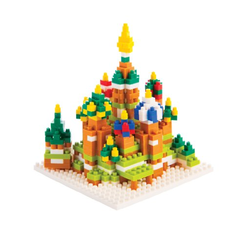 Nanoblock St. Basil Cathedral by Ohio Art