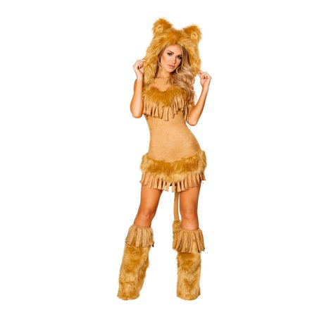 Sexy The Bashful Lion Costume - Lion Tamer Costume Child