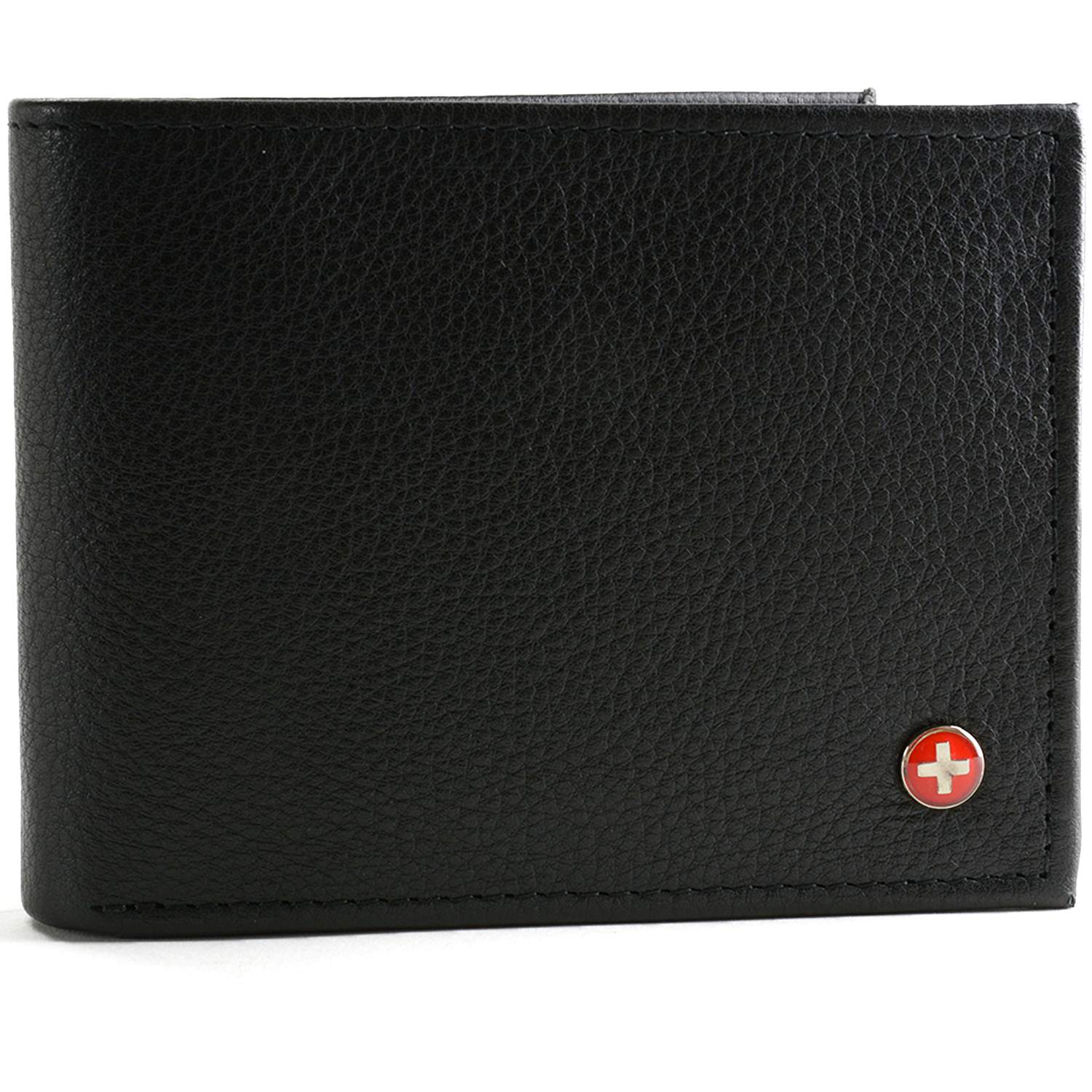 Alpine Swiss RFID Blocking Mens Bifold Wallet Keep Identity & Credit Cards Safe