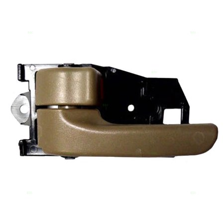 Drivers Inside Inner Dark Tan Door Handle Replacement for Toyota Van 69206AA010B0