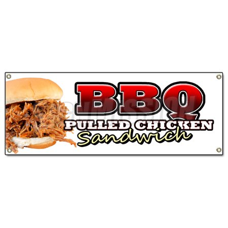 Bbq Chicken Red Corrugated Plastic Yard Sign /Free Stakes ...   Bbq Chicken Sign