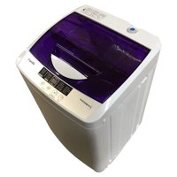 Panda 1.34 cu.ft Portable Compact Washing Machine, Top Load Cloth Washer, Purple