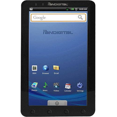 "Pandigital Multimedia Novel R90A200 9"" 2GB Android OS Black"