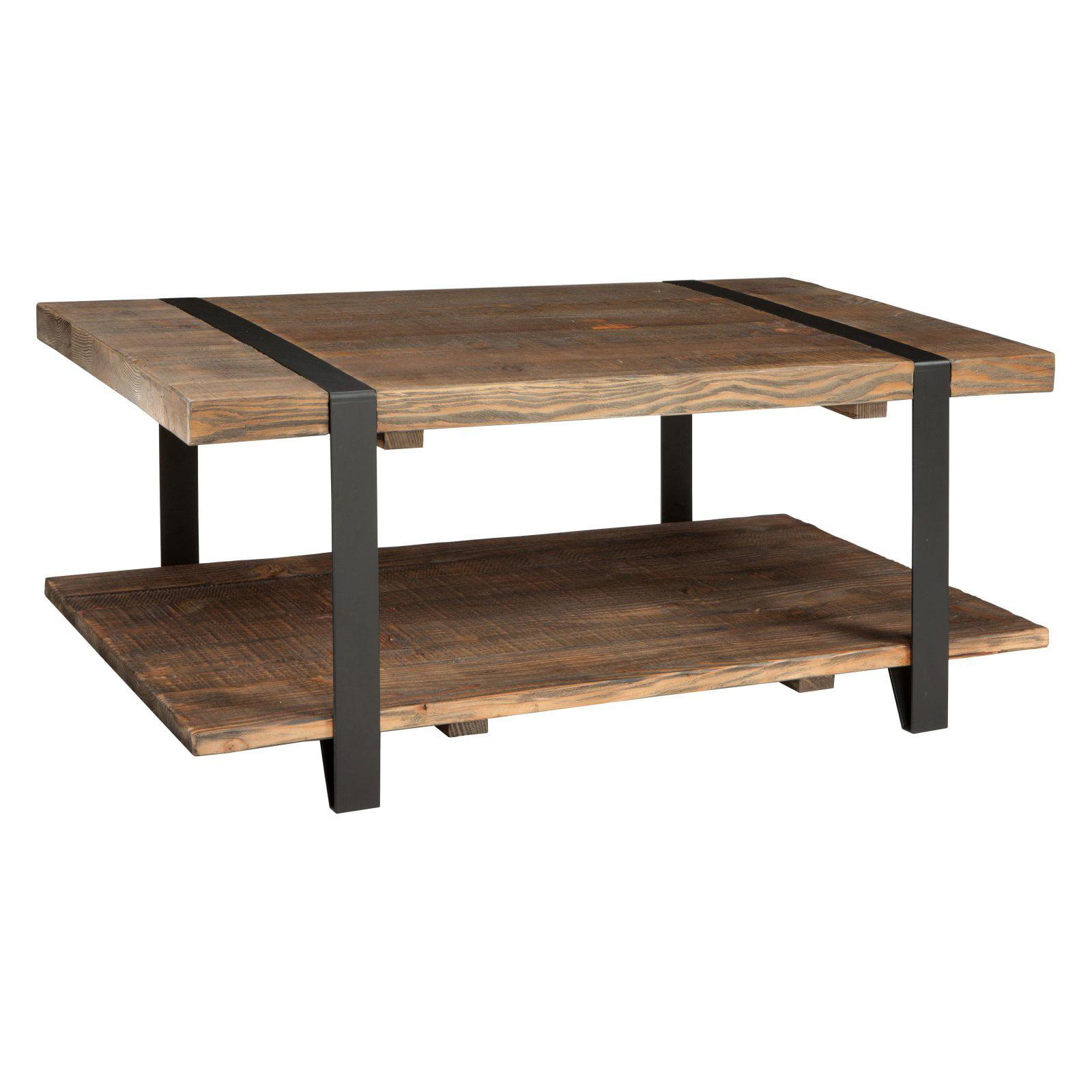 Modesto Coffee Table, Rustic Natural