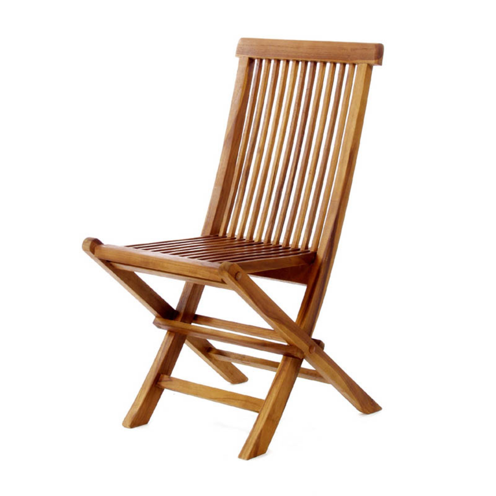 All Things Cedar Teak Folding Chair