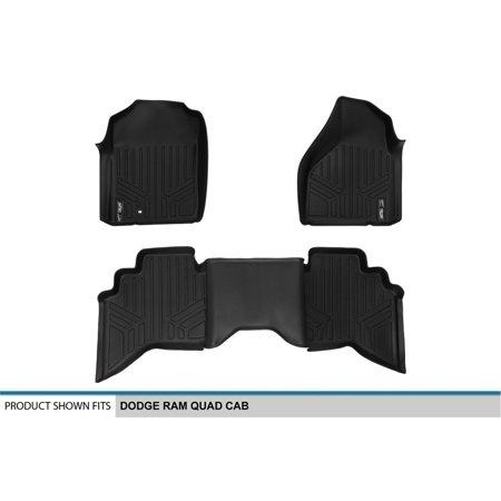 Maxliner A0182 B0182 Maxfloormat All Weather Custom Fit Floor Mats Fits Ram 1500