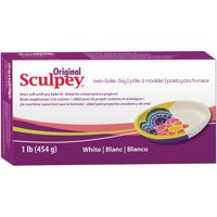 Scupley Oven Bake Clay, White