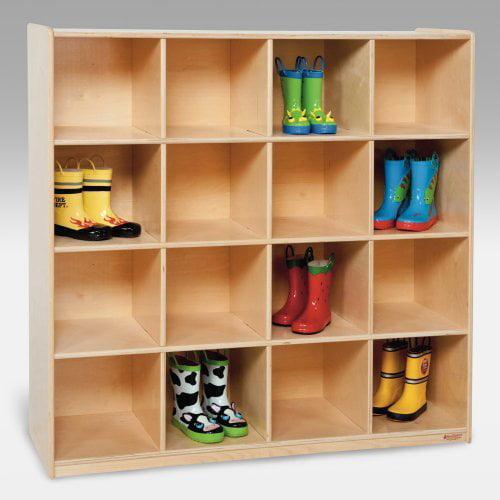 Wood Designs 16 Big Cubby Storage