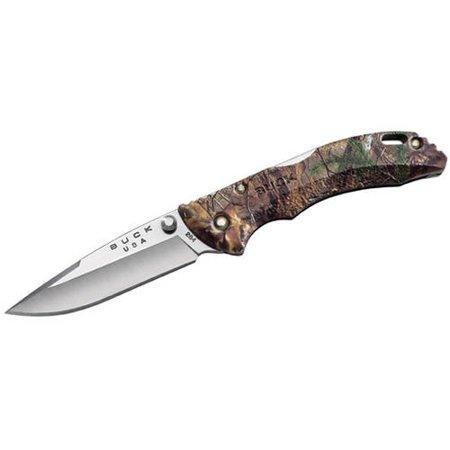 "Buck Knives Bantam BBW, 2-3/4"" Blade, RealTree Xtra Camo Nylon Handle, Boxed"