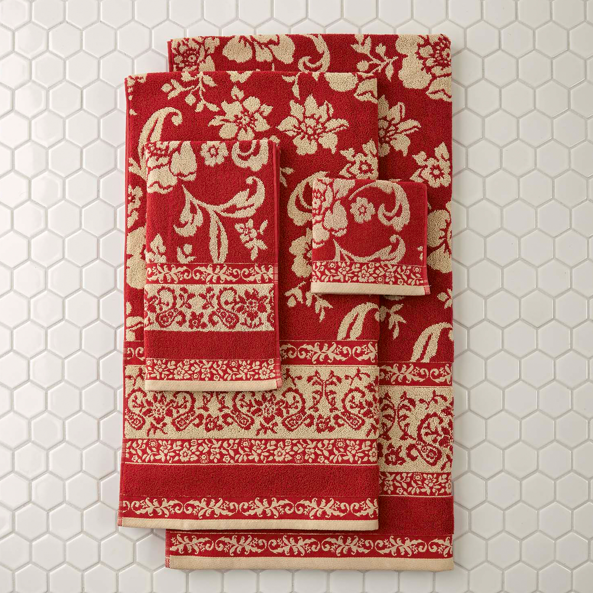 Better Homes & Gardens Cotton Jacquard Towel