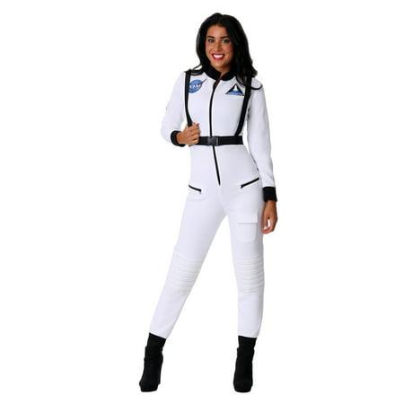 Female Astronaut Costume (Women's White Astronaut)