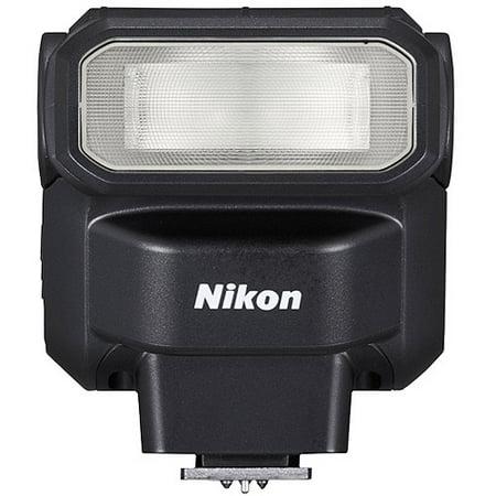 Camera Flash - Nikon SB300 Speedlight Flash for Nikon COOLPIX and DSLR Cameras, Black