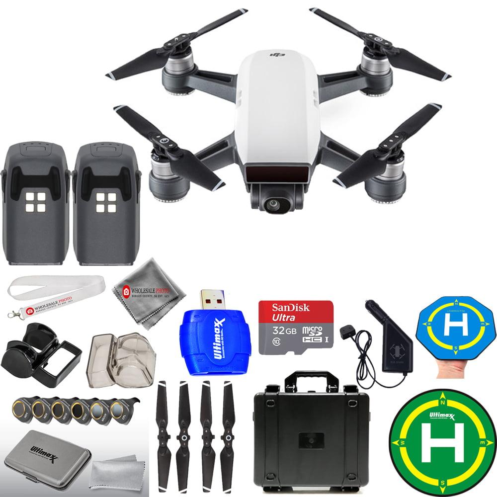 UNASSIGNED DJI Spark Quadcopter MEGA 2 BATTERY BUNDLE WITH HARD CARRY CASE PLUS MORE