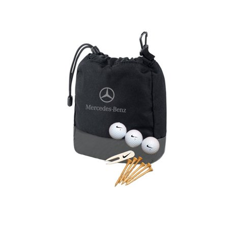 Mercedes Lifestyle Collection Nike Valuables Golf Pouch Gift Set, AMHG-140, M-B NIKE GOLF SET By Mercedes-Benz
